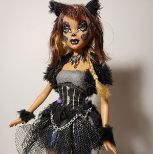 Wolf girl barbie repaint